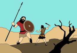 Small business lessons from David and Goliath