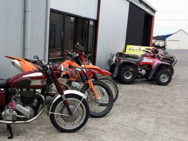 Motorcycle Workshop Business for Sale Helensville Auckland
