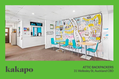 Attic Backpackers Business for Sale Auckland CBD