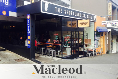 Shortland Street Cafe Business for Sale Auckland