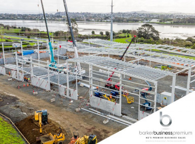 Steel Construction Business for Sale Auckland
