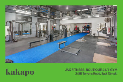 JAX Fitness Gym Business for Sale East Auckland