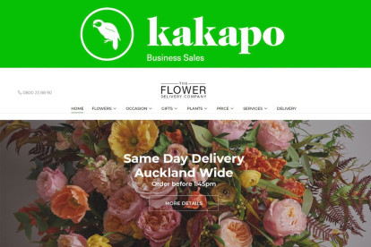 Online Florist Retail Business for Sale West Auckland
