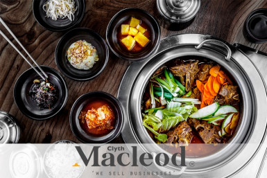 Licensed Korean Restaurant Business for Sale Auckland CBD