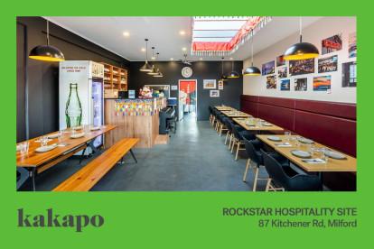 Rockstar Hospo Site Business for Sale Milford Auckland