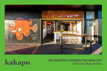 Red Snapper Takeaway Business for Sale Point Chevalier Auckland