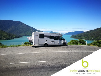 Luxury Motorhome Rental  Business for Sale Auckland