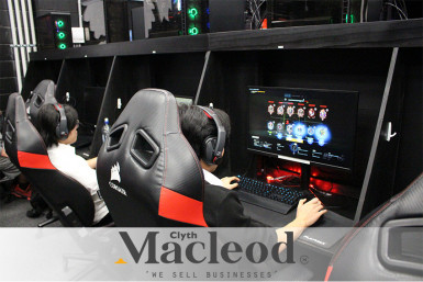 Top E Sport Gaming Lounge Business for Sale Auckland