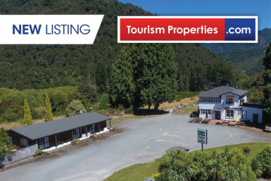 Tavern, Motel and Campervan Park Business for Sale Owen River Canterbury