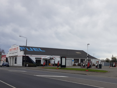 Challenge Service Station and Workshop  Business for Sale Culverden