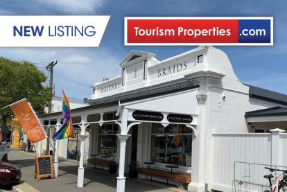 Lodge and Real Estate Business for Sale Kurow