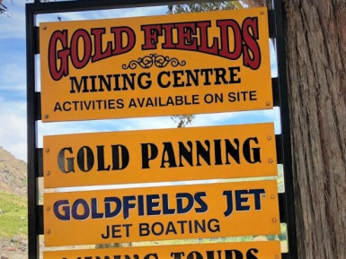 Goldfields Mining Activity Business for Sale Queenstown Area