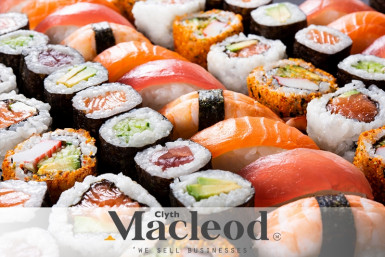 Sushi Takeaway Business for Sale Rotorua