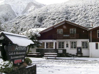 Swiss Style Chalet Accommodation Business for Sale Arthurs Pass