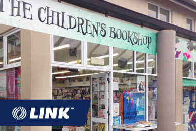 Children's Book Store Business for Sale Wellington