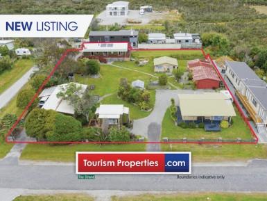 FHGC Beach House Business for Sale Okarito West Coast