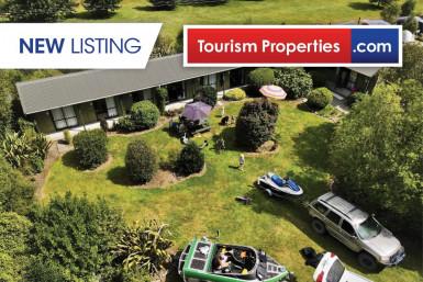 Land for Accommodation Business for Sale Lake Brunner