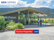 Matheson Cafe & ReflectioNZ Retail Business for Sale Franz Josef