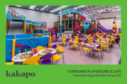 Chipmunks Playland and Cafe Franchise for Sale Penrose, Auckland