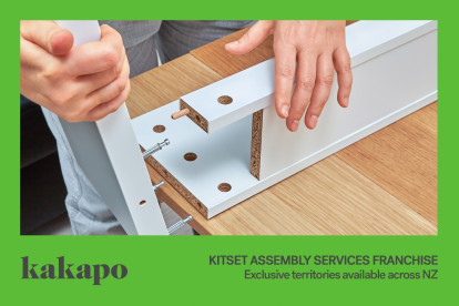 Kitset Assembly Services Franchise for Sale Auckland Territories available now