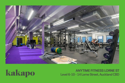 Anytime Fitness Gym Franchise for Sale Auckland CBD