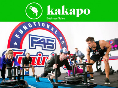 F45 Training Gym Franchise for Sale Central Auckland