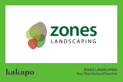 Zones Landscaping Services Franchise for Sale West Auckland