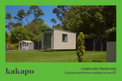 Cabin Hire Franchise for Sale Hamilton