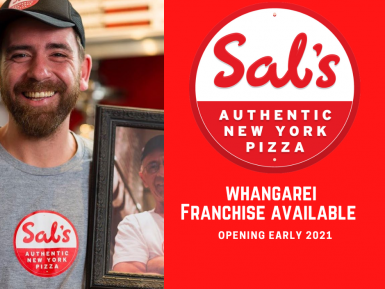 Sals Authentic New York Pizza Franchise for Sale Whangarei