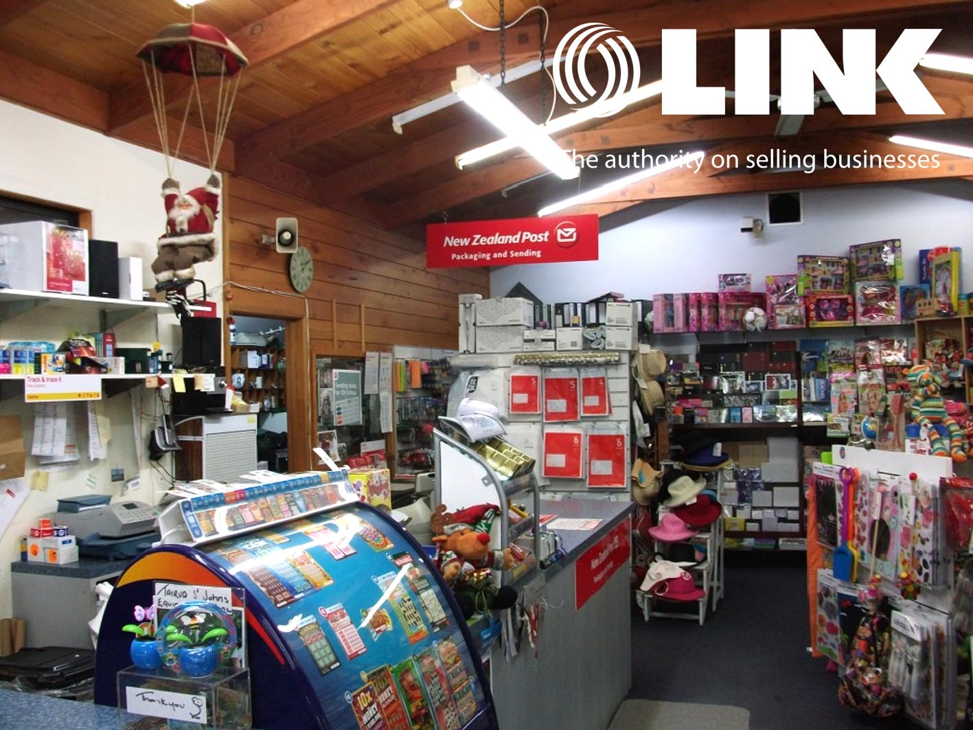 Live in Paradise With $100K Income!! NZ Post, Lotto & Gifts. Franchise for Sale Tairua