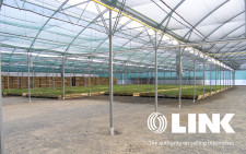 Home Land and Large Greenhouse  Business  for Sale