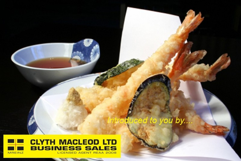 Licensed Japanese Restaurant for Sale Auckland