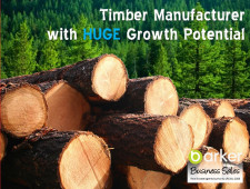 Unique Timber Manufacturing  Business  for Sale