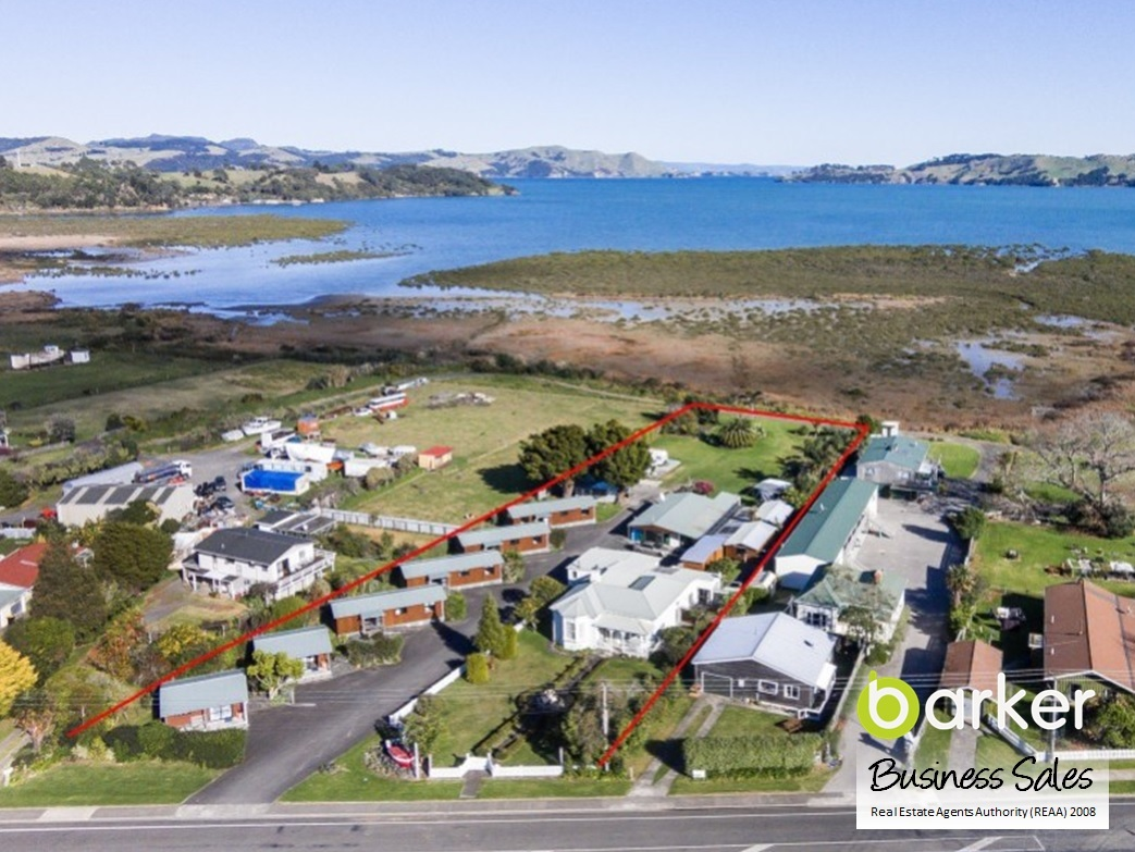 Motel, Backpackers Holiday Park Business for Sale Coromandel