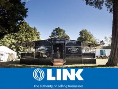 Mobile Hospitality Events Business for Sale Wairarapa