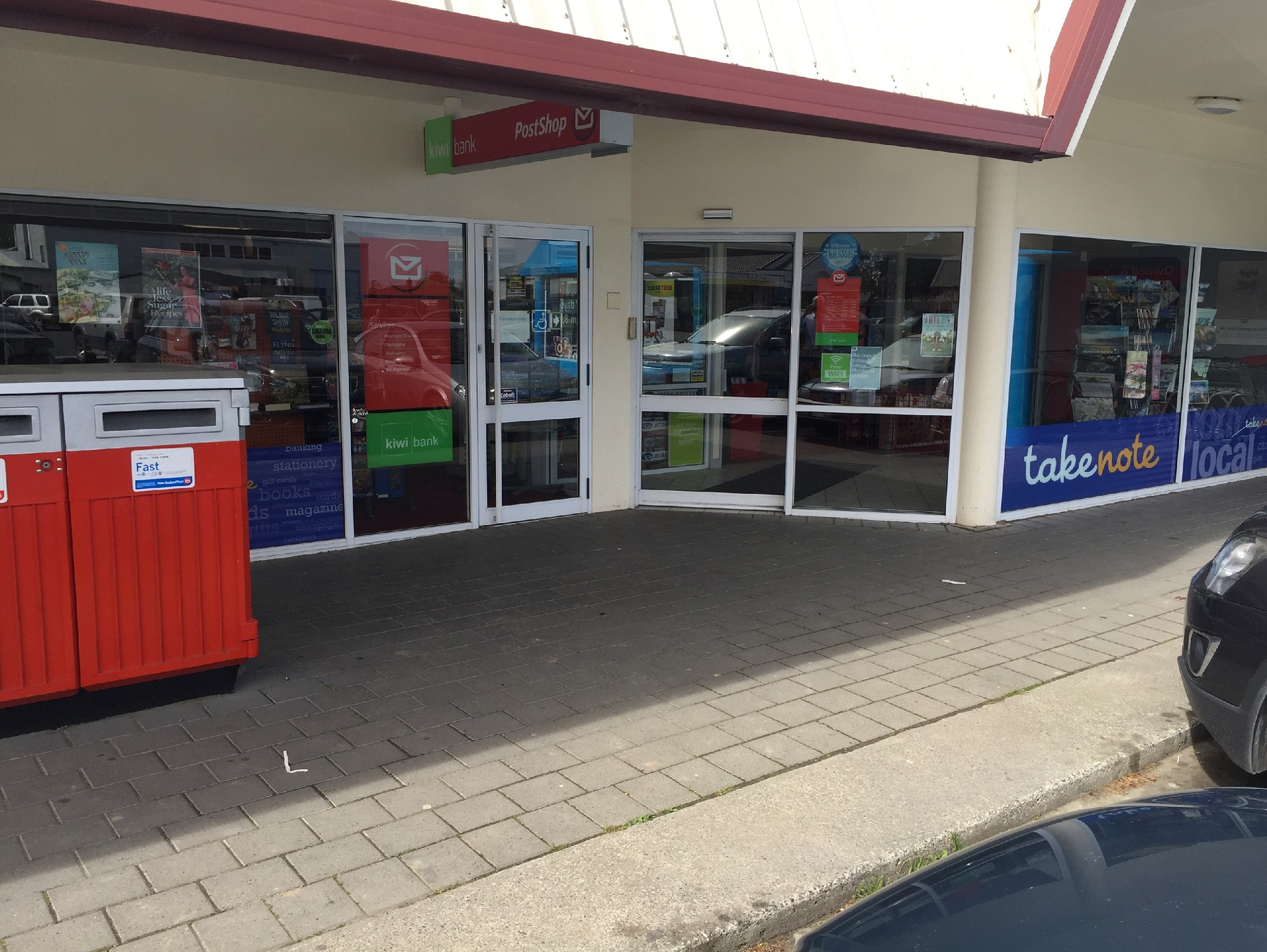 Stationery and Postal Kiwi Bank Business for Sale Christchurch Area