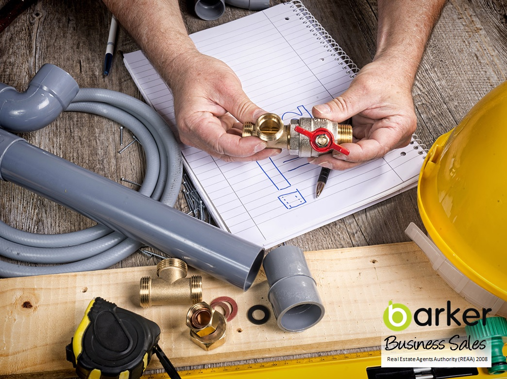 Quality Plumbing Business for Sale Lower North Island
