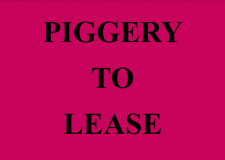 Leasehold Piggery  Business  for Sale