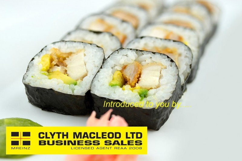 5 Day Sushi Takeaway Business for Sale Auckland