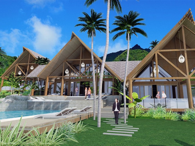 Luxury Villa Accommodation Business for Sale Muri Beach Rarotonga