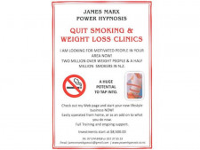 Weight Loss and Quit Smoking Clinics  Business  for Sale