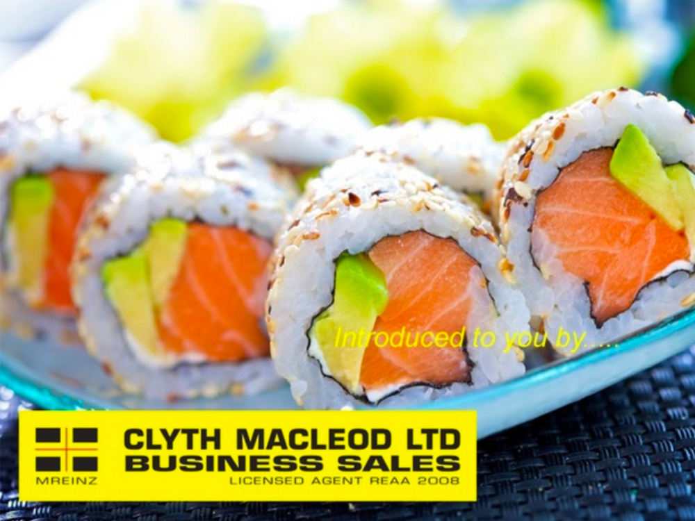 Sushi 6 Day Business for Sale Rotorua Bay of Plenty