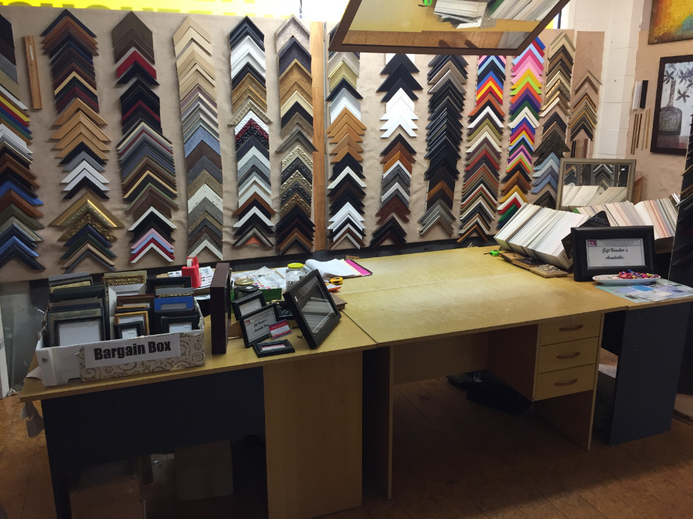 Picture Framing Warehouse Business for Sale Ellerslie Auckland