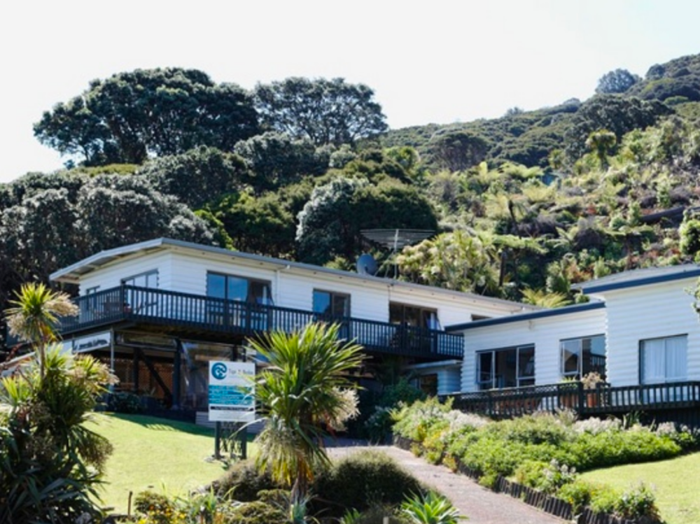 Tipi and Bobs Waterfront Lodge Business for Sale Auckland