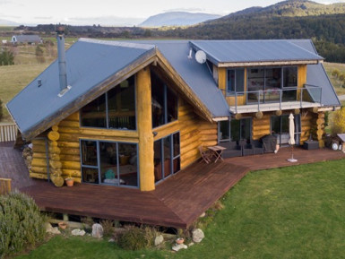 2 Log Cabins and Luxury Lodge  Business  for Sale