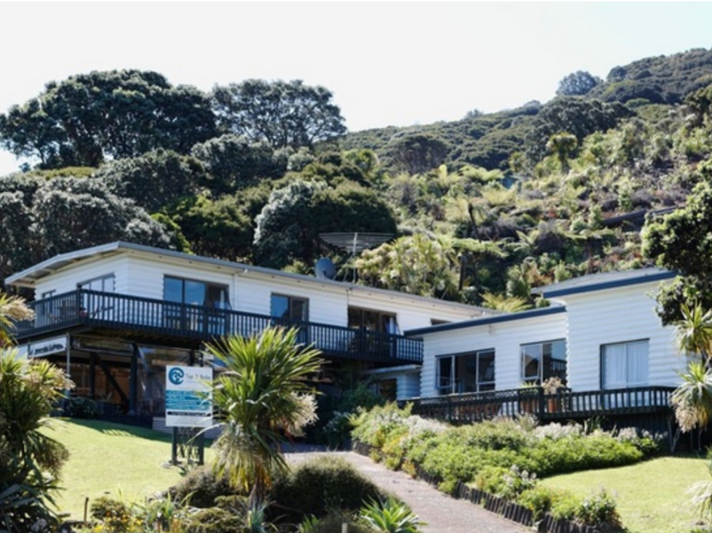 Waterfront Lodge Business for Sale Great Barrier Island