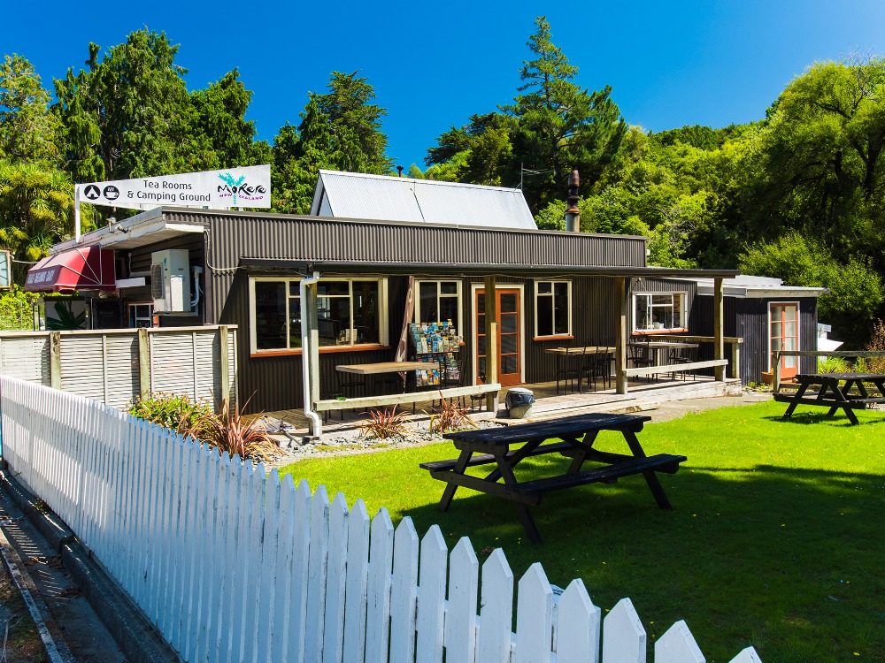 Camping Ground and Cafe for Sale Waiora Gisborne