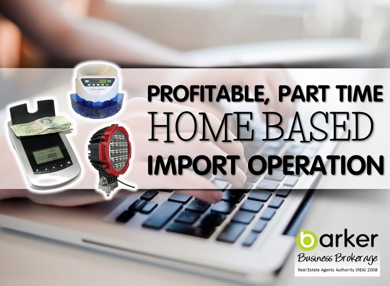 Home Based Import Business for Sale Christchurch