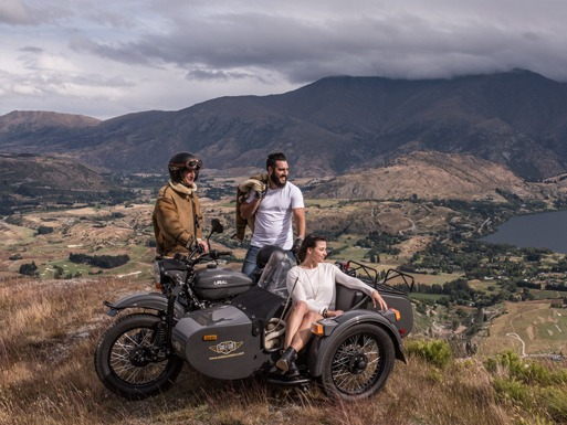 Sidecar Motorcycle Tour Company Business for Sale Queenstown