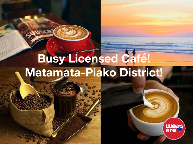 Licensed Cafe Business for Sale Matamata-Piako District